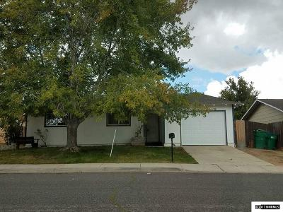 Washoe County Single Family Home Active/Pending-Loan: 11185 White Sage Dr