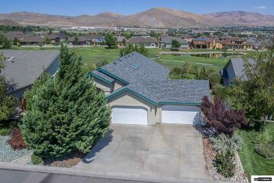 Carson City County Single Family Home Active/Pending-House: 1608 Evergreen Drive