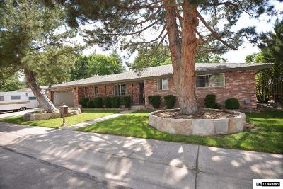 Carson City Single Family Home Active/Pending-Loan: 1315 Enterprize Way