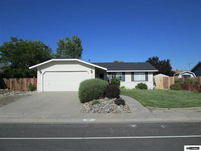 Gardnerville Single Family Home Active/Pending-Loan: 617 Bluerock Rd