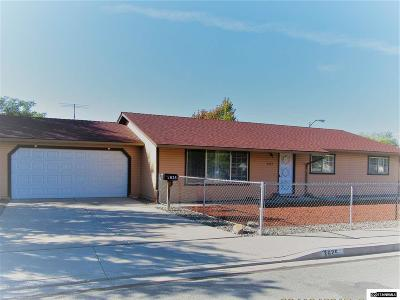 Carson City County Single Family Home For Sale: 3625 Stanton Drive