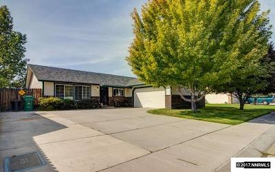 Carson City County Single Family Home Active/Pending-Call: 1875 Spooner Dr