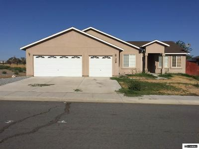 Fernley Single Family Home New: 309 Ben's Way