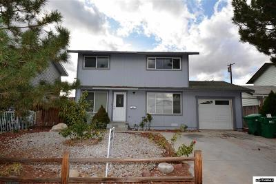 Washoe County Single Family Home New: 2305 Tripp Drive