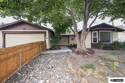 Reno Single Family Home New: 3055 Bobby Drive