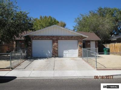 Washoe County Multi Family Home New: 1277 Arnold Drive