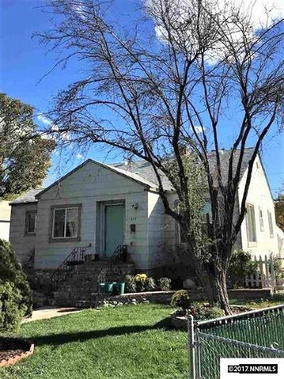 Sparks Single Family Home For Sale: 651 G Street