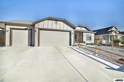 Fernley Single Family Home New: 1060 Aster Lane