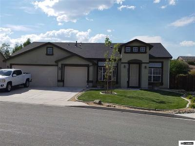Washoe County Single Family Home Active/Pending-Loan: 17775 Thunder River Drive