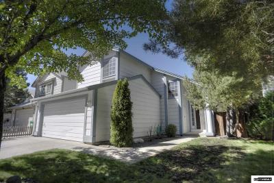 Reno Single Family Home New: 2725 Azuza Way