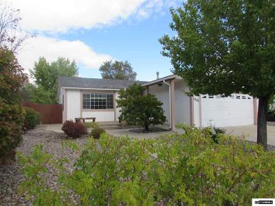Washoe County Single Family Home New: 6325 E Chinook