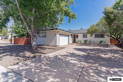 Reno Single Family Home New: 1570 Rayburn Drive