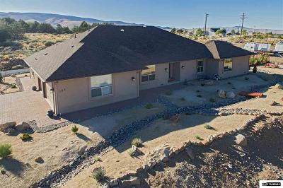 Washoe County Single Family Home New: 105 Desatoya