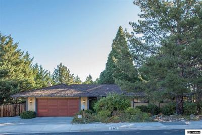 Reno, Sparks, Carson City, Gardnerville Single Family Home For Sale: 3445 Cashill