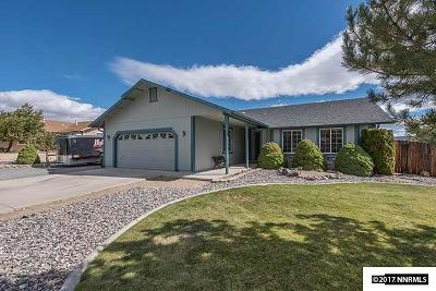 Washoe County Single Family Home New: 408 Beau