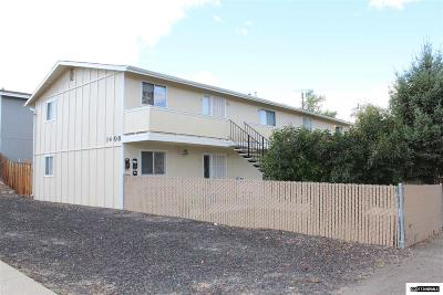 Carson City County Multi Family Home New: 1408 N Edmonds Dr