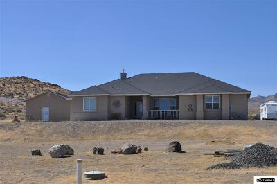 Fernley Single Family Home New: 1165 Sage St
