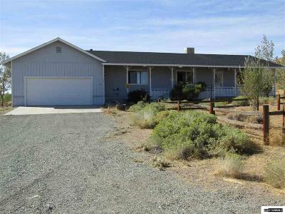 Yerington NV Single Family Home Active/Pending-Loan: $172,000