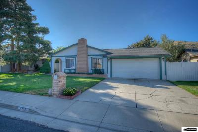 Washoe County Single Family Home New: 4210 Sierra Madre