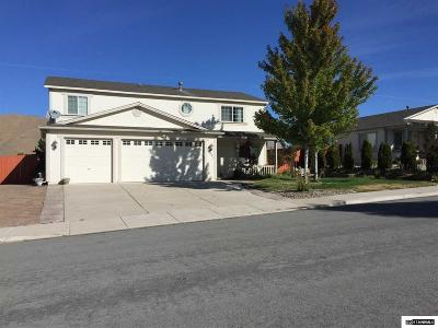 Washoe County Single Family Home New: 17421 Desert Lake Drive