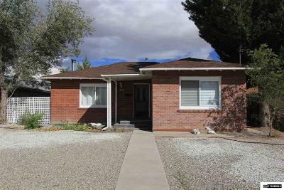 Yerington NV Single Family Home For Sale: $130,000