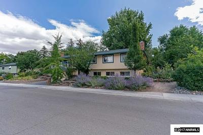 Reno Single Family Home New: 2750 Solari Drive