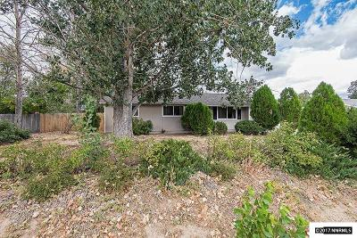 Washoe County Single Family Home New: 9185 Fremont Way