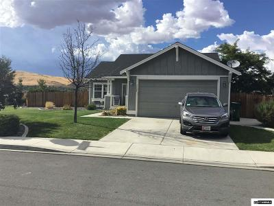Washoe County Single Family Home New: 5525 Ash Rock