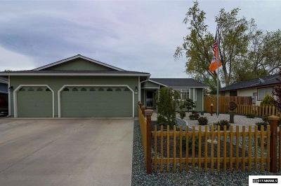 Fernley Single Family Home New: 490 Shadow