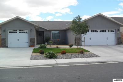 Fernley Single Family Home New: 229 Heather Lane