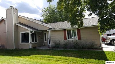 Washoe County Single Family Home New: 2121 Wabash Circle