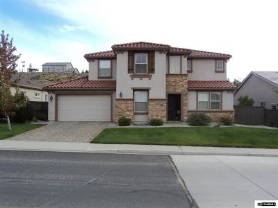 Washoe County Single Family Home New: 8390 Opal Station Drive