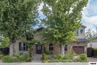 Washoe County Single Family Home New: 1640 Watt Street