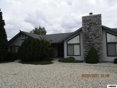 Carson City County Single Family Home New: 5215 S Edmonds Drive