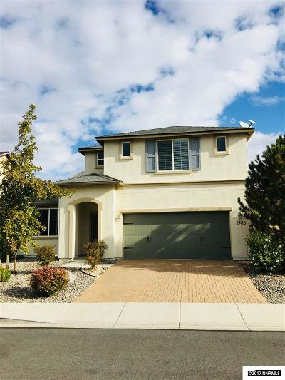 Washoe County Single Family Home New: 1985 Long Hollow Dr.