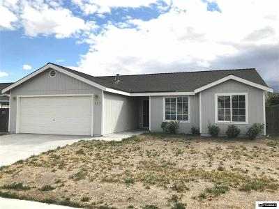 Fernley Single Family Home New: 225 Jenny's Lane