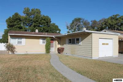 Fallon Single Family Home Active/Pending-Loan: 290 S Bailey St.