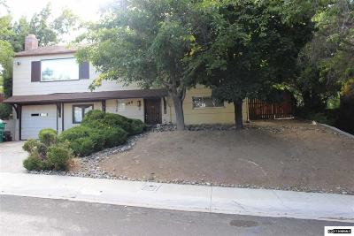 Reno Single Family Home New: 1025 Bowman Drive