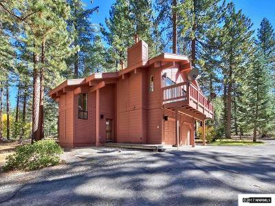 Tahoe City, Stateline, Zephyr Cove Single Family Home For Sale: 560 Sierra Sunset Lane