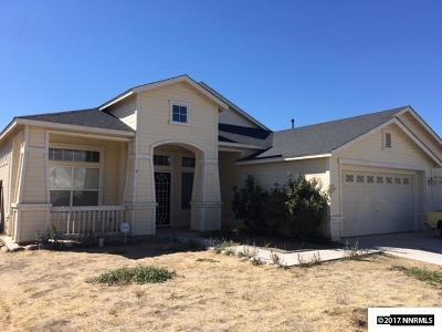 Fernley Single Family Home New: 1063 Rimfield