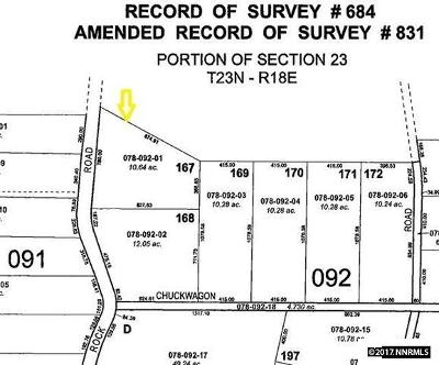 Reno Residential Lots & Land New: 14580 Red Rock Road