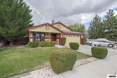 Reno Single Family Home New: 1575 Mescalero