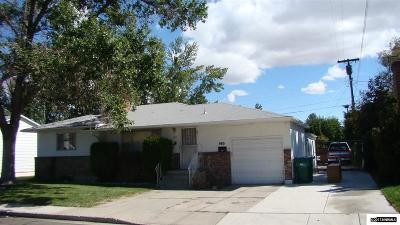 Reno Single Family Home New: 660 Belgrave Ave