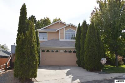 Reno Single Family Home New: 6326 Blue Lakes