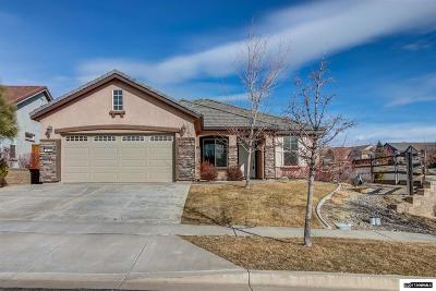 Reno Single Family Home For Sale: 1440 Meridian Ranch Drive