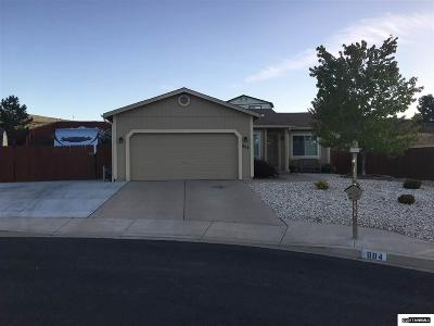 Sun Valley Single Family Home Active/Pending-Loan: 884 Midnight Court