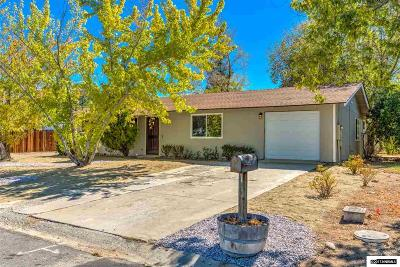 Gardnerville Single Family Home For Sale: 1293 Franklin