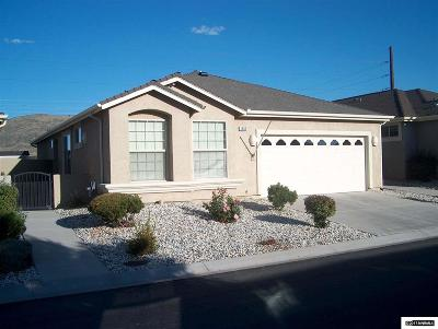 Carson City Single Family Home Active/Pending-Loan: 1909 Teal Drive