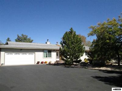 Washoe County Single Family Home Active/Pending-House: 20715 Cooke Drive