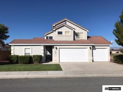 Fernley Single Family Home Price Reduced: 123 Desert Lakes Drive